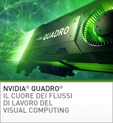 Grafica per workstation Quadro