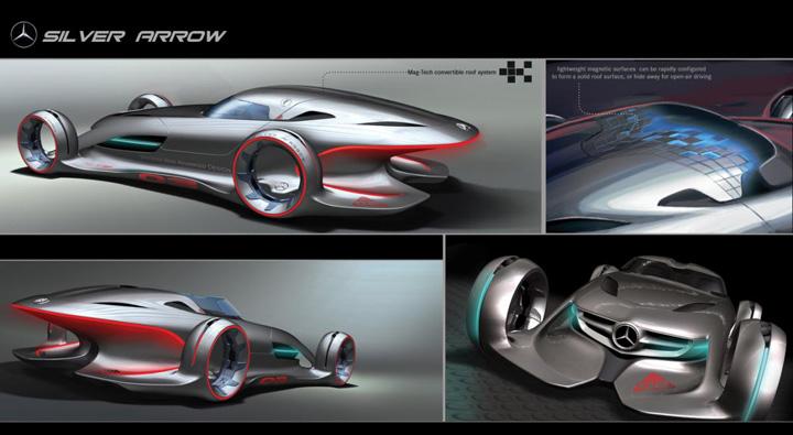 Nvidia maximus aiuta mercedes benz a progettare la sua for Mercedes benz silver lightning