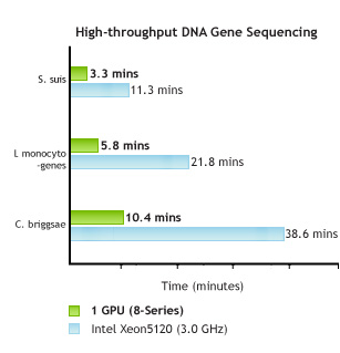 MUMmerGPU: allineamento delle sequenze di DNA a elevato throughput grazie alle GPU