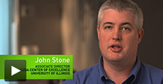 Video: John Stone, Senior Research Programmer alla University of Illinois, sviluppatore su VMD (In inglese)