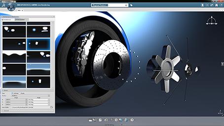 Dassault catia con schede grafiche quadro nvidia for Programmi rendering 3d