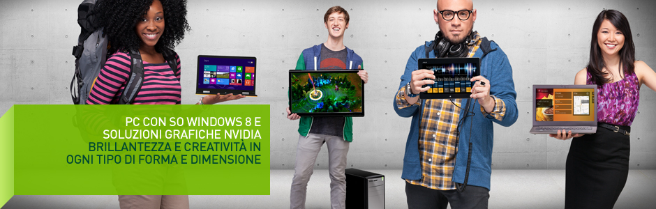 PC Windows 8 – con Tegra e GeForce